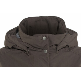 Didriksons 1913 W's Eline Parka Chocolate Brown